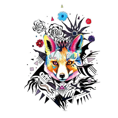 Pop Renard animaux FIT ME TATTOO Fit Me Tattoo, tatouage éphémère, tatouage temporaire