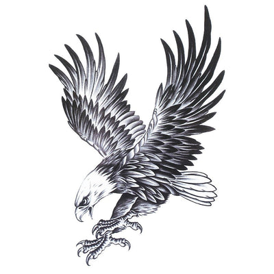 Aigle Royal animaux FIT ME TATTOO Fit Me Tattoo, tatouage éphémère, tatouage temporaire