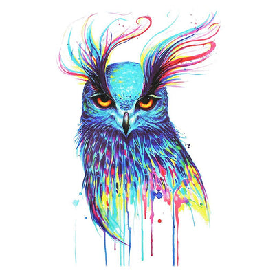Hibou Majestueux animaux FIT ME TATTOO Fit Me Tattoo, tatouage éphémère, tatouage temporaire