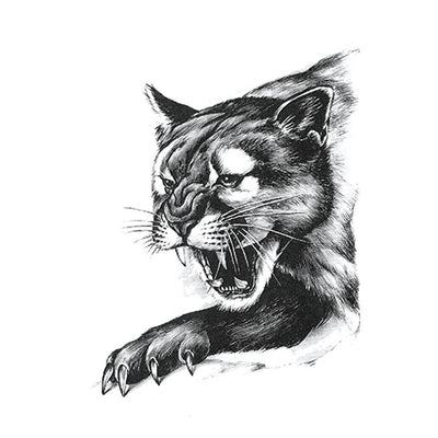 Puma animaux FIT ME TATTOO Fit Me Tattoo, tatouage éphémère, tatouage temporaire