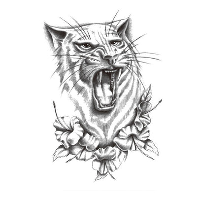 Tigre Protecteur animaux FIT ME TATTOO Fit Me Tattoo, tatouage éphémère, tatouage temporaire
