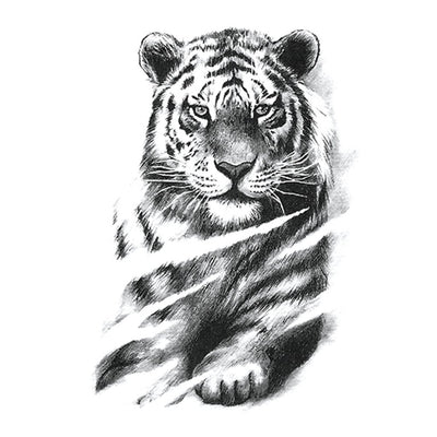 Tigre Majestueux animaux FIT ME TATTOO Fit Me Tattoo, tatouage éphémère, tatouage temporaire