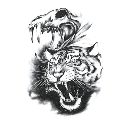 Tigre Sauvage animaux FIT ME TATTOO Fit Me Tattoo, tatouage éphémère, tatouage temporaire