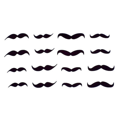 Moustaches art FIT ME TATTOO Fit Me Tattoo, tatouage éphémère, tatouage temporaire