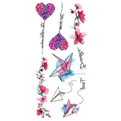 Romance Pastel art FIT ME TATTOO Fit Me Tattoo, tatouage éphémère, tatouage temporaire