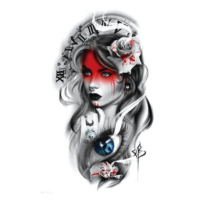 Pin Up Romantique art FIT ME TATTOO Fit Me Tattoo, tatouage éphémère, tatouage temporaire