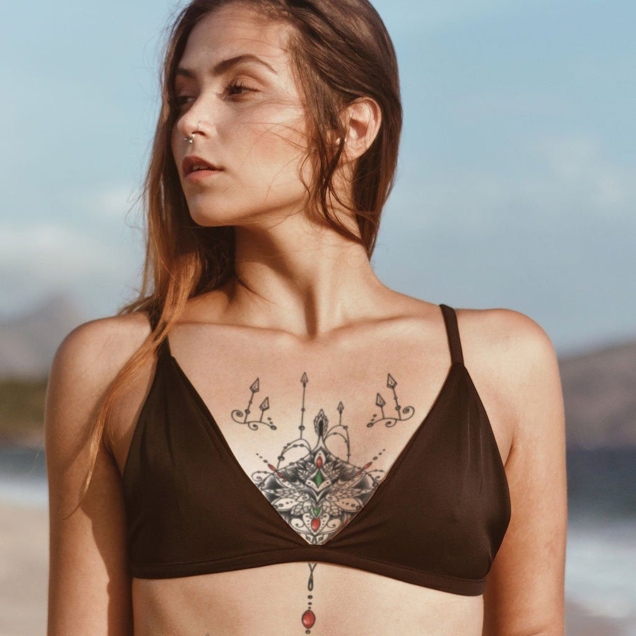 Rubis Emeraudes féminin FIT ME TATTOO Fit Me Tattoo, tatouage éphémère, tatouage temporaire