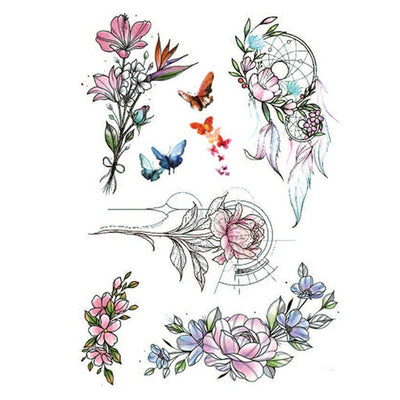 Esprit Fleur nature FIT ME TATTOO Fit Me Tattoo, tatouage éphémère, tatouage temporaire