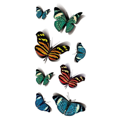 Papillon Couleur 2 nature FIT ME TATTOO Fit Me Tattoo, tatouage éphémère, tatouage temporaire