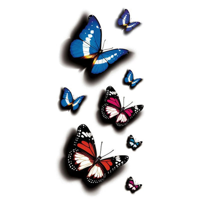 Papillon Couleur 3 nature FIT ME TATTOO Fit Me Tattoo, tatouage éphémère, tatouage temporaire