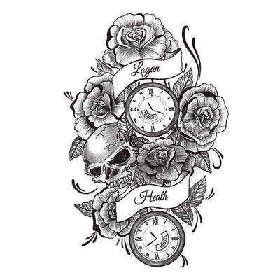 Roses du Temps univers FIT ME TATTOO Fit Me Tattoo, tatouage éphémère, tatouage temporaire
