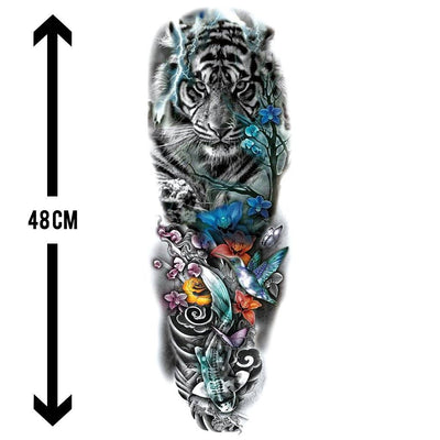 Parfum Japonais sleeve FIT ME TATTOO Fit Me Tattoo, tatouage éphémère, tatouage temporaire