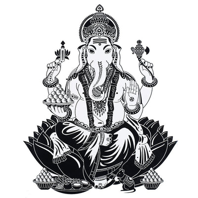 Ganesh Puja spirituel FIT ME TATTOO Fit Me Tattoo, tatouage éphémère, tatouage temporaire