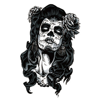 Calavera Queen spirituel FIT ME TATTOO Fit Me Tattoo, tatouage éphémère, tatouage temporaire