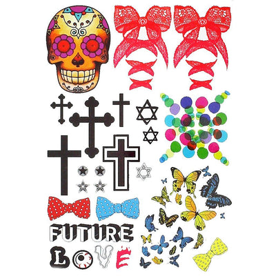 Future Love univers FIT ME TATTOO Fit Me Tattoo, tatouage éphémère, tatouage temporaire