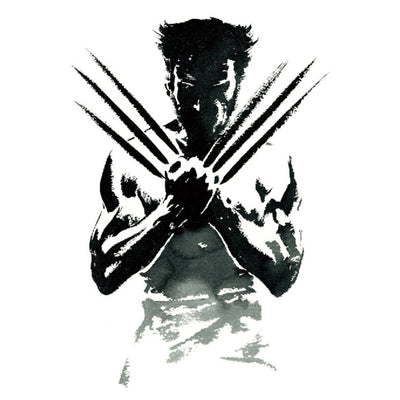 Wolverine univers FIT ME TATTOO Fit Me Tattoo, tatouage éphémère, tatouage temporaire