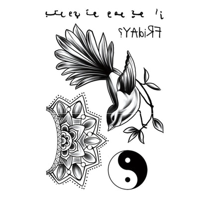 Ying Yang Life univers FIT ME TATTOO Fit Me Tattoo, tatouage éphémère, tatouage temporaire