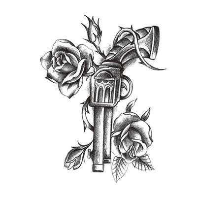 Revolver Rose univers FIT ME TATTOO Fit Me Tattoo, tatouage éphémère, tatouage temporaire