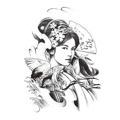 Chinoise Traditionnelle voyage FIT ME TATTOO Fit Me Tattoo, tatouage éphémère, tatouage temporaire
