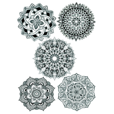 Mandala Collection nature FIT ME TATTOO Fit Me Tattoo, tatouage éphémère, tatouage temporaire