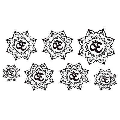 Mandala Om voyage FIT ME TATTOO Fit Me Tattoo, tatouage éphémère, tatouage temporaire