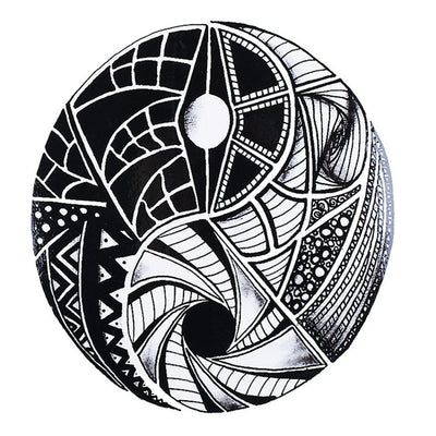 Ying Yang Maori voyage FIT ME TATTOO Fit Me Tattoo, tatouage éphémère, tatouage temporaire