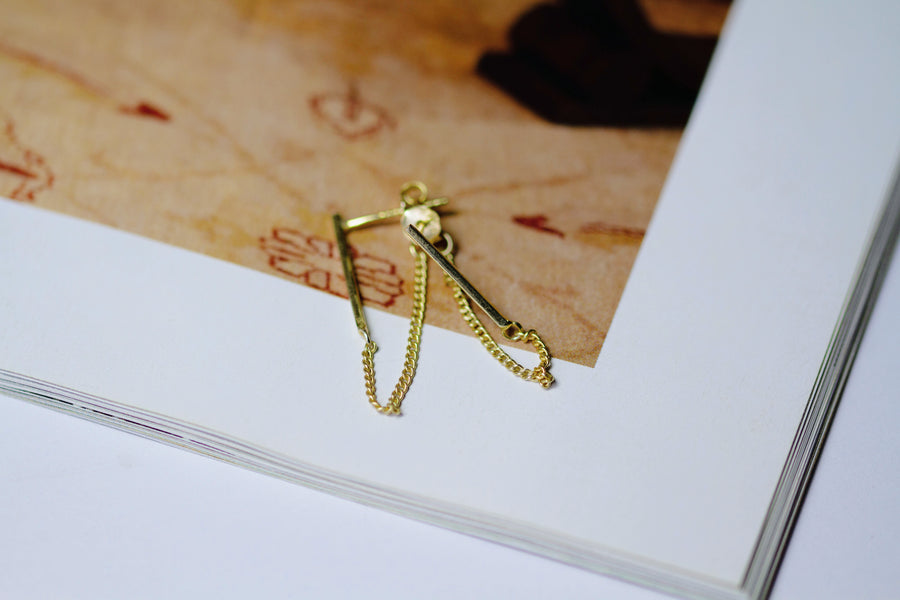 Savanna Earrings Gold
