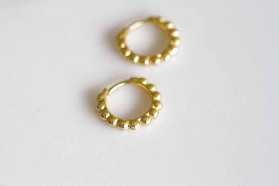 Havana Earrings Gold