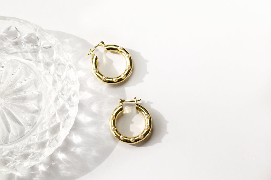 Sirocco Earrings Gold