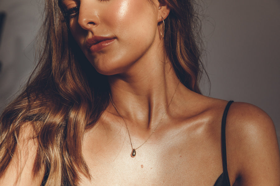 Solis Necklace Gold