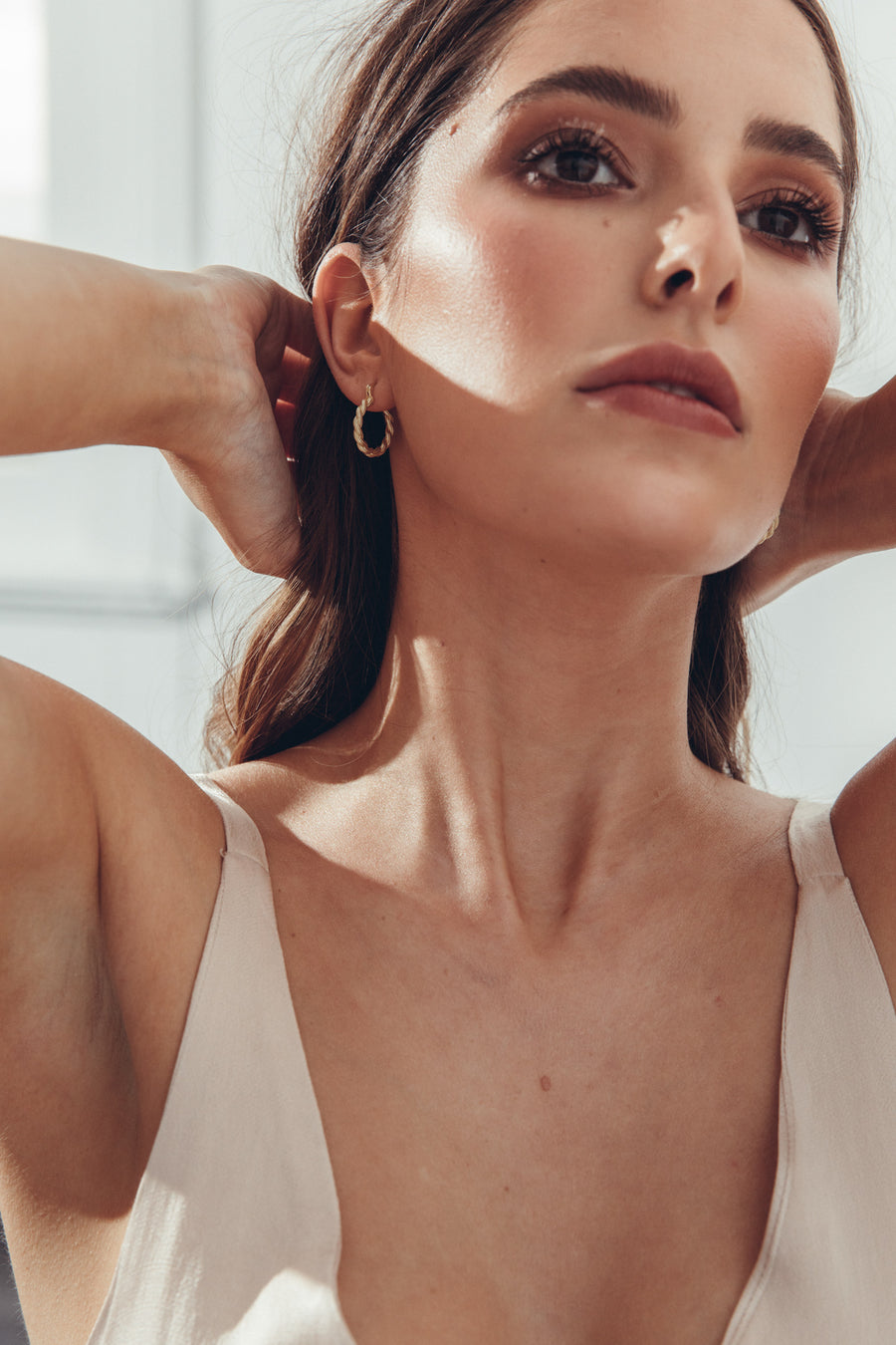 Lena Earrings Gold