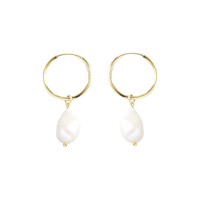 Perla Earrings Gold