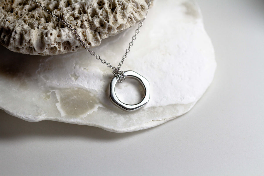 Helios Silver Necklace