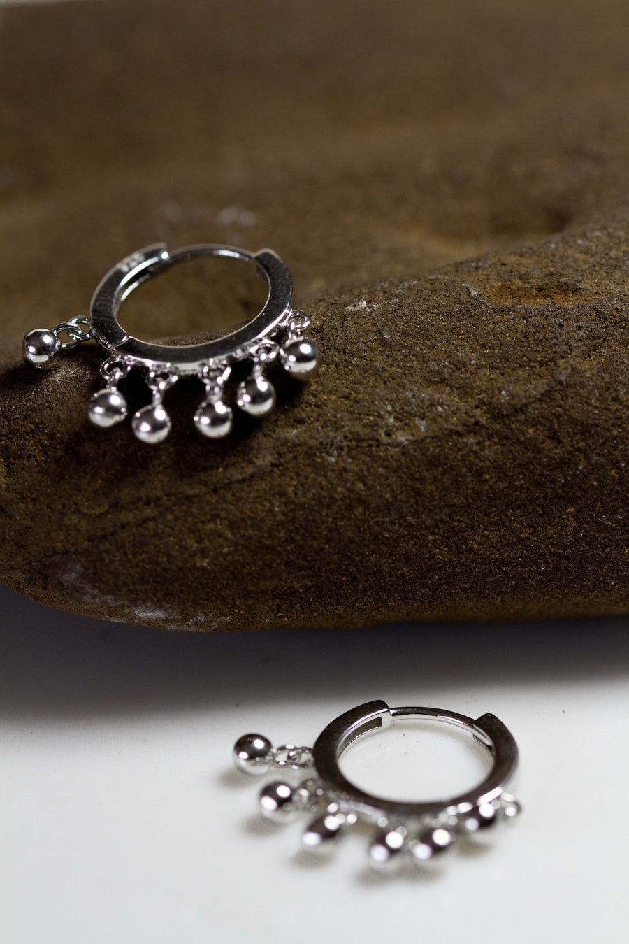 Dalia Silver Earrings