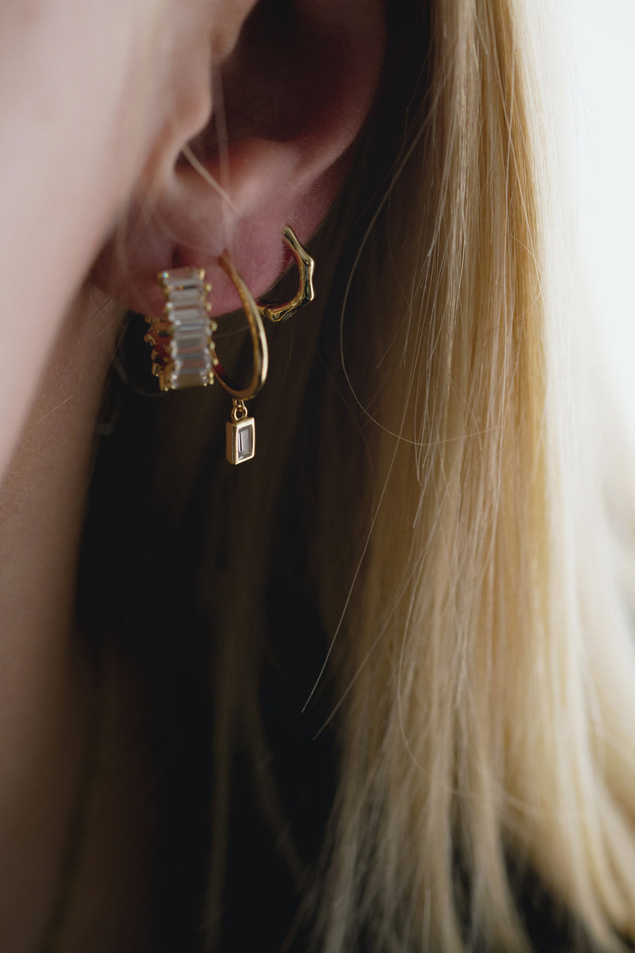 Joni Earrings Gold