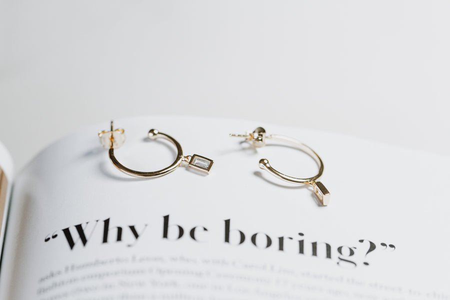 Stellar Gold Earrings