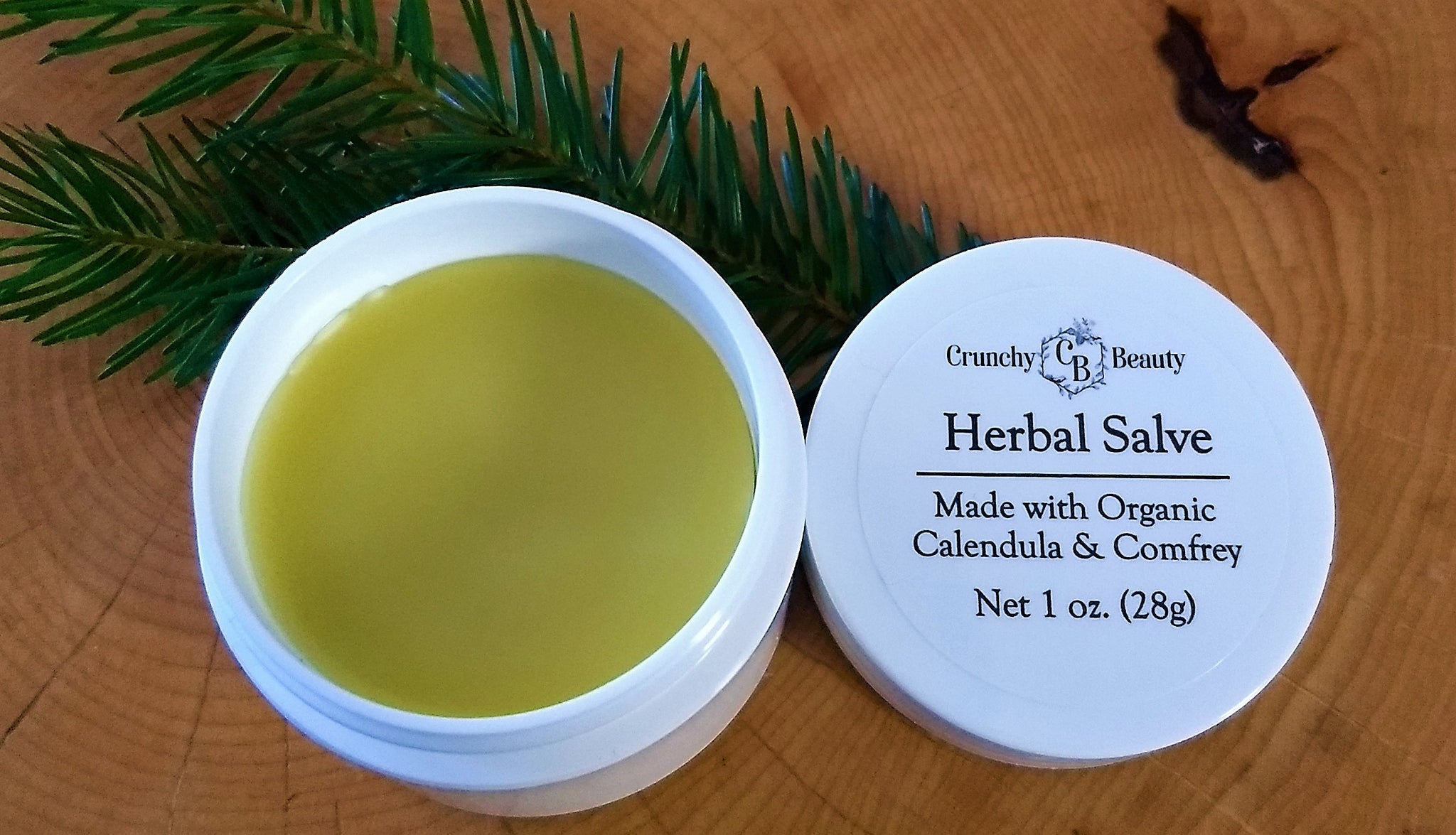 Herbal Salve - Calendula & Comfrey