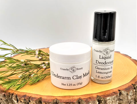 Underarm Mask & Liquid Deodorant Duo
