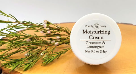 Moisturizing Cream - Geranium & Lemongrass