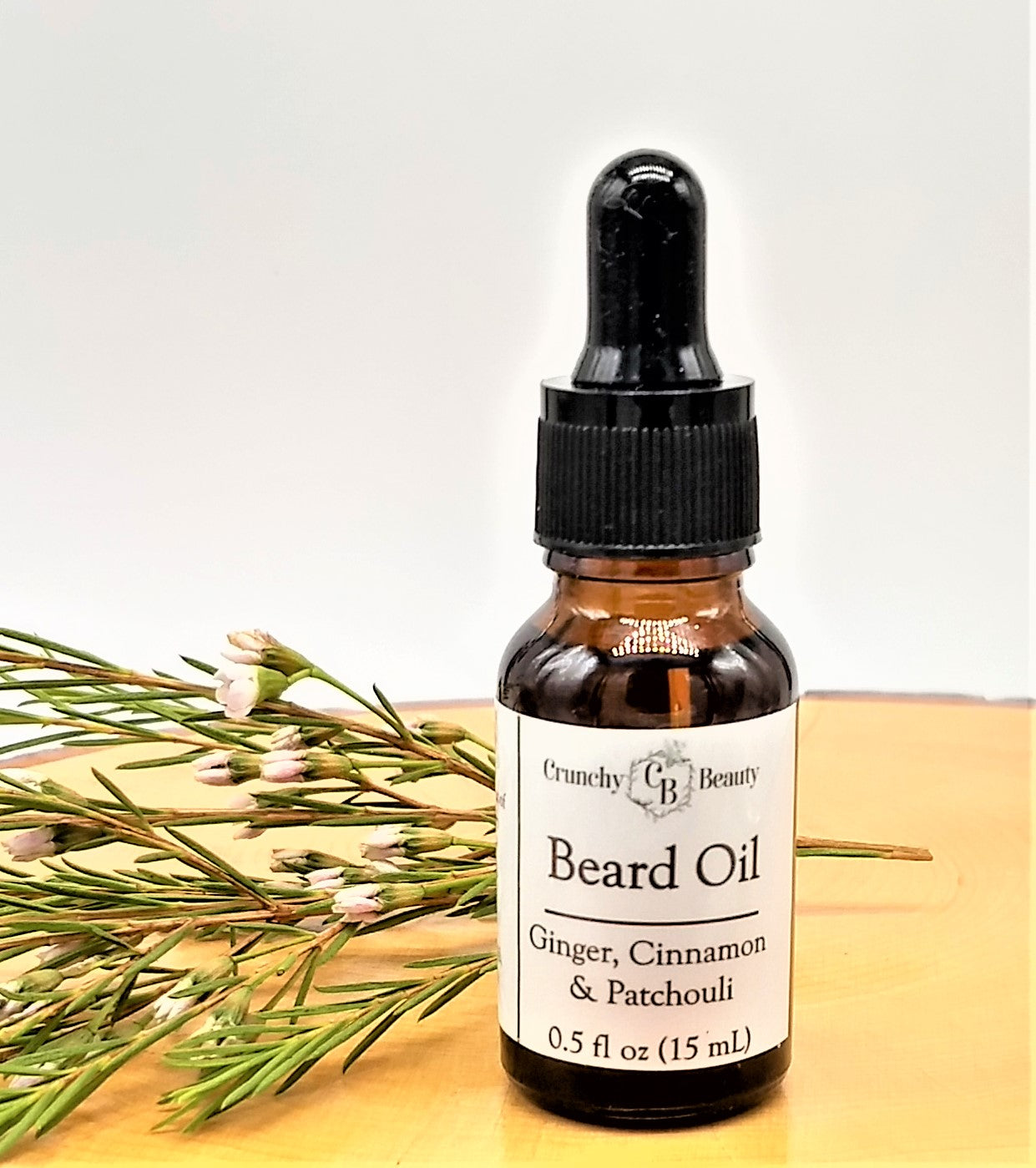 Beard Oil - Ginger, Cinnamon & Patchouli