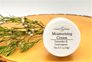 Moisturizing Cream - Lavender & Lemongrass