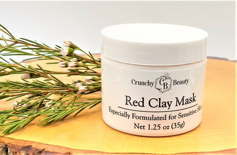 Red Clay Mask - Sensitive Skin - All Skin Types