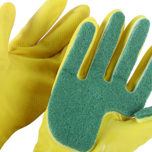 Cleaning Sponge Glove