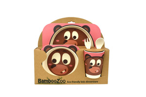 Bamboozoo 5pcs Dinnerware Set - Bear
