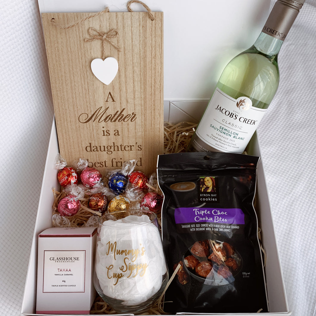 Mother's Day Gift Box - White