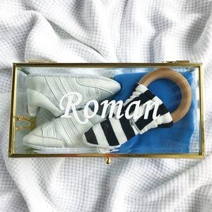 Roman Amore gift box - personalised baby boy keepsake gift box