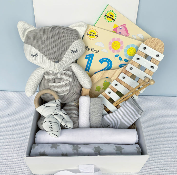 Lullaby Gift Box - Grey