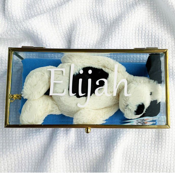 Amore Gift Box - Jellycat Puppy