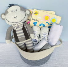 Load image into Gallery viewer, Bambino Gift Basket - Grey