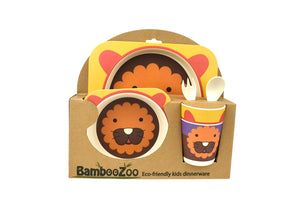 Bamboozoo 5pcs Dinnerware Set - Lion
